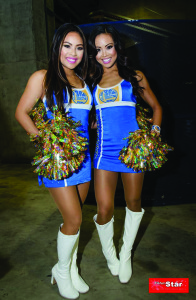 Kaela and Jackie - FilAm Warriors dancers
